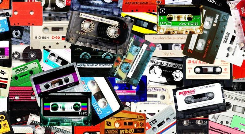 Cassette tapes had a massive boom in sales in 2017