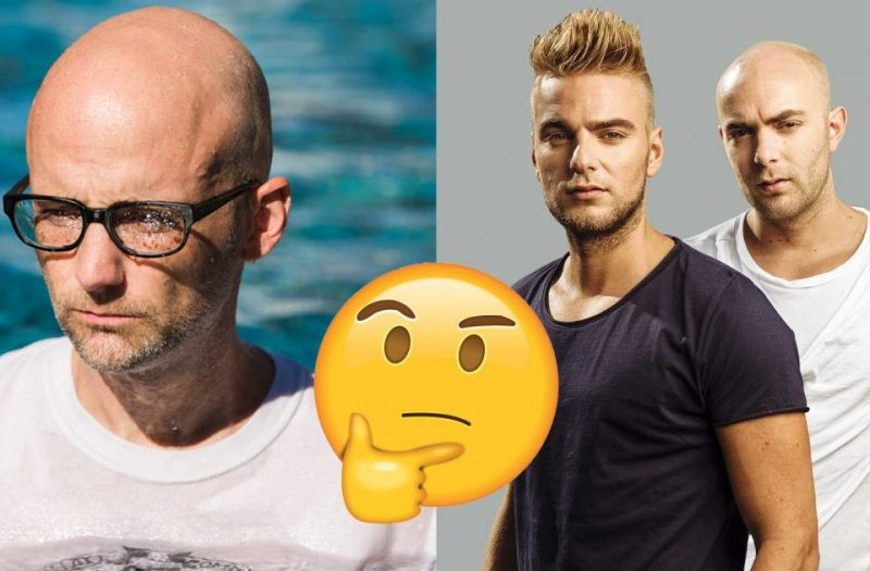 Showtek and Moby have collaborated and we're unsure how to feel