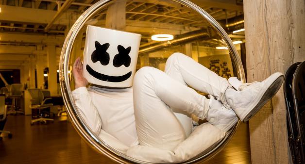 DJ Mag USA meets Marshmello