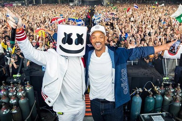 Marshmello brings out Will Smith as surprise Ultra 20 guest [Watch]