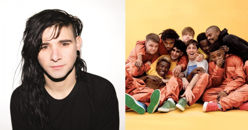 Skrillex and BROCKHAMPTON are working on music together