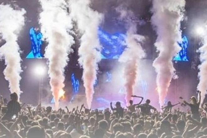 Three people have fallen ill after attending Scotland's Coloursfest
