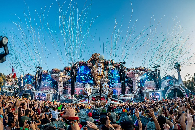These are the top 10 most played tracks from this year's Tomorrowland!