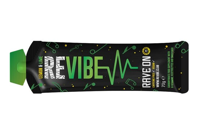 REVIBE yourself with a new energy gel that's carefully catered to ravers