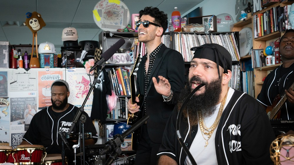 "Chromeo Performs With A Band For The First Time On NPR's ""Tiny Desk"""