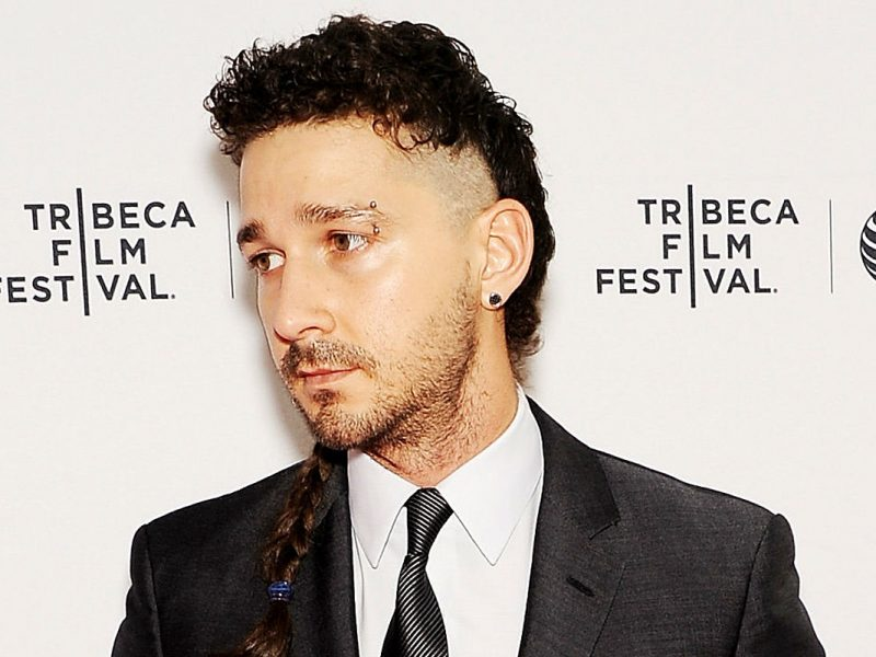 Shia LaBeouf Just Got His Entire Chest Tattooed for a Movie Role