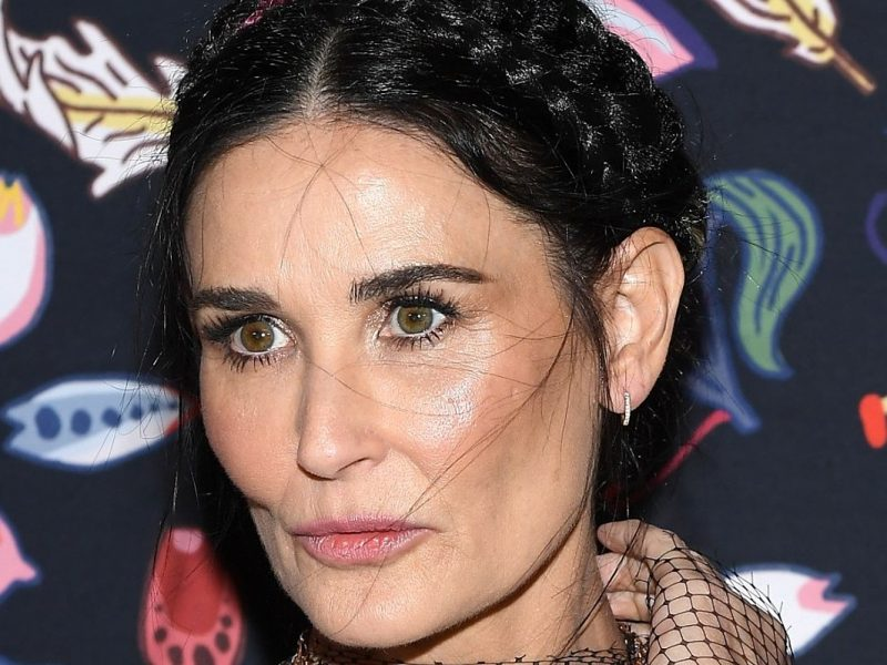 What Is Going on Inside Demi Moore's Bizarre Bathroom?