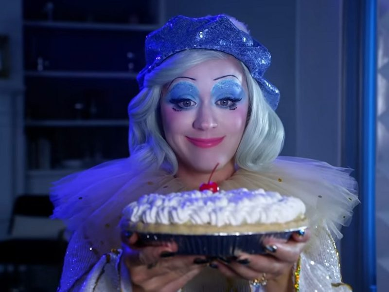 Pregnant Katy Perry Takes a Pie to the Face in 'Smile' Music Video: WATCH