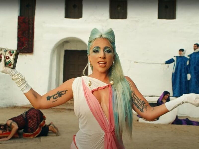 Lady Gaga's '911' Music Video Is a Surreal, Cinematic Fever Dream: WATCH