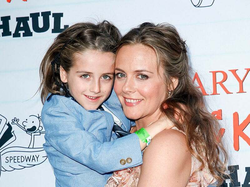 Alicia Silverstone's 9-Year-Old Son Was Bullied for His Gorgeous Long Hair