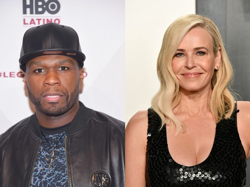 Chelsea Handler Will Pay Ex 50 Cent's Taxes If He Stops Endorsing Trump