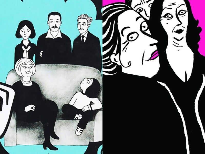 Are Marjane Satrapi's Works Comics or Graphic Novels?