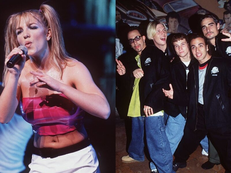 Britney Spears and the Backstreet Boys Team Up for the Collaboration of Our '90s Pop Icon Dreams: Listen to 'Matches'