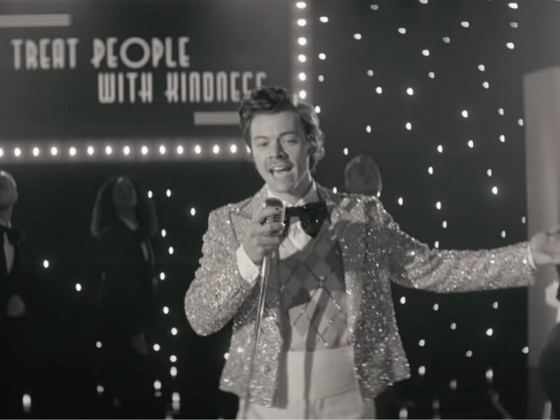Harry Styles Rings in 2021 With 'Treat People With Kindness' Music Video: Watch