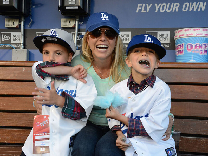 Britney Spears' Teen Sons 'Finally Let Her' Post This Sweet Family Photo of Them Together
