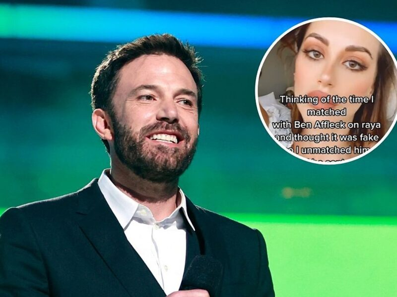Ben Affleck Sent This Woman a Personal Video After She Un-Matched With Him on a Dating App