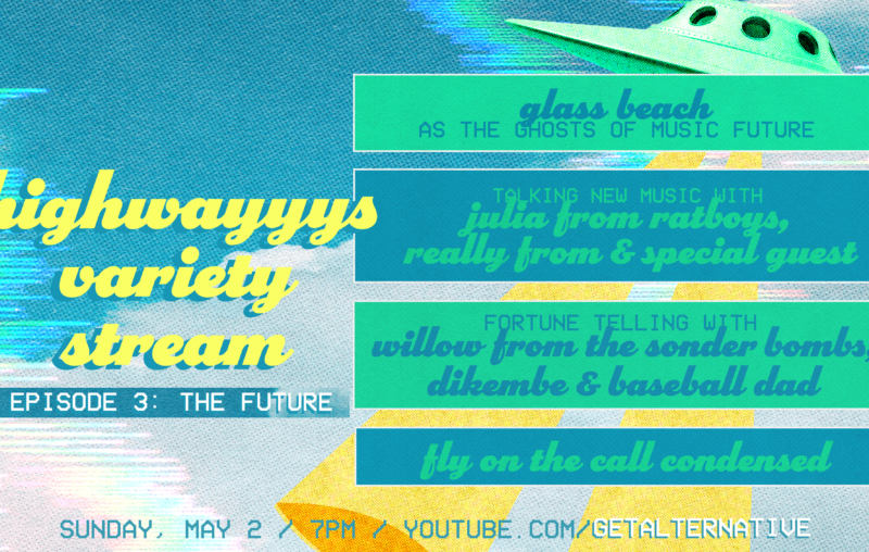 Streaming Sundays: Variety Show #3 featuring Glass Beach, Dikembe, Really From, Ratboys, and more!