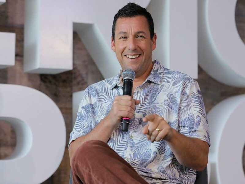 Adam Sandler Reunites With Viral TikTok Hostess for Milkshake Monday
