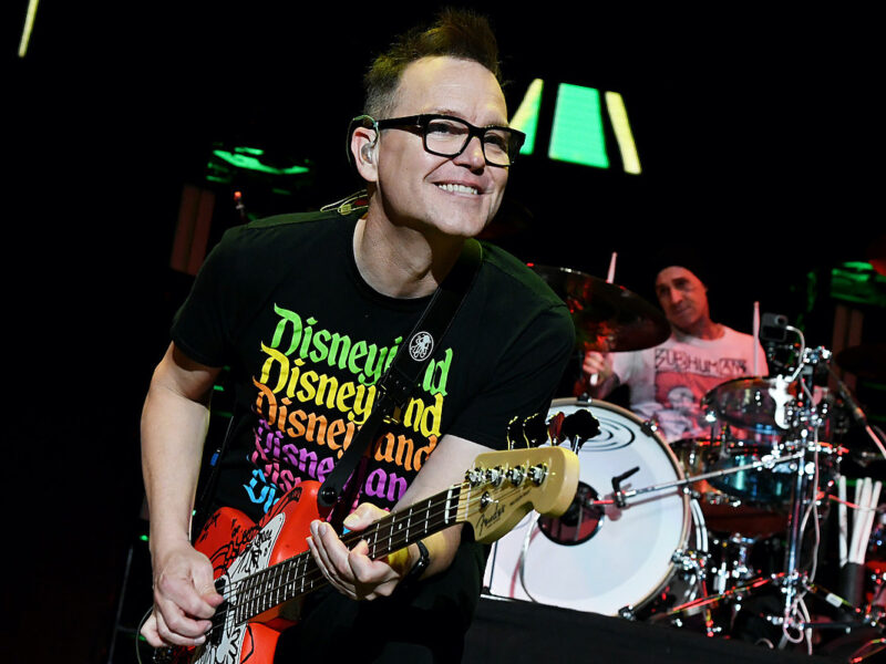 Blink-182's Mark Hoppus Diagnosed With Cancer