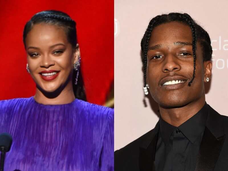 Rihanna and A$AP Rocky Go Viral For Seemingly Being Denied Entry Into Club: Watch