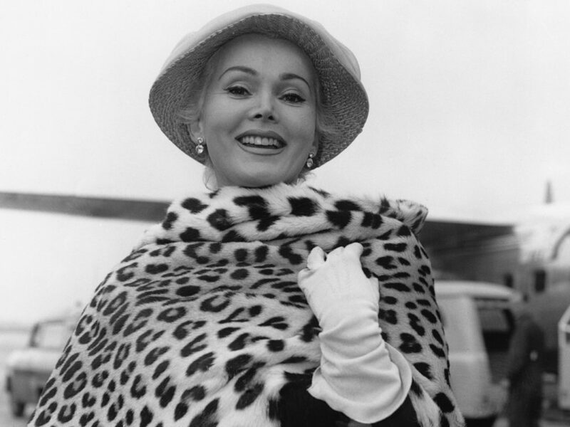 Zsa Zsa Gabor Was Laid to Rest Five Years After Her Death