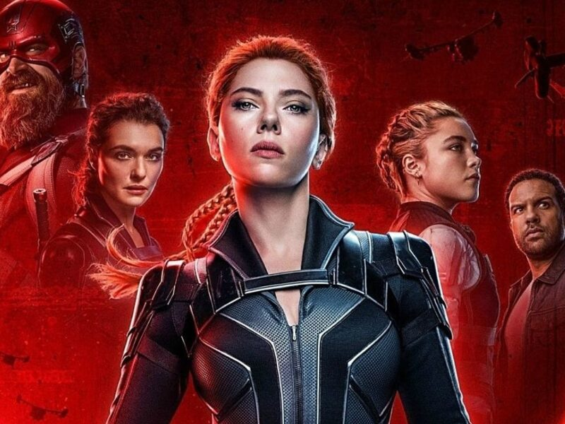 Who Sings the 'Smells Like Teen Spirit' Cover in the 'Black Widow' Opening Credits?