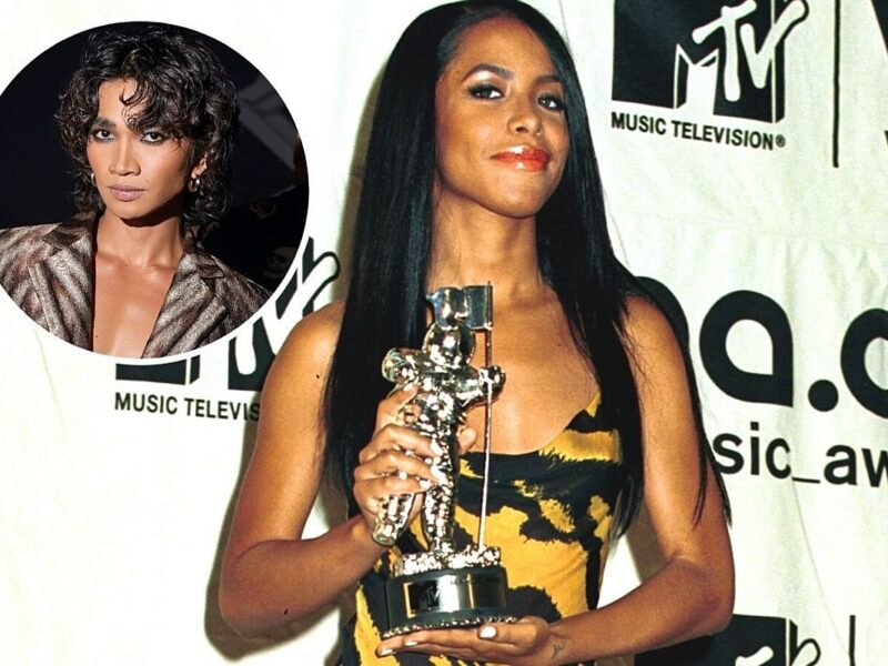 This Influencer Wore Aaliyah's Iconic 2000 VMAs Gown 20 Years After Her Death