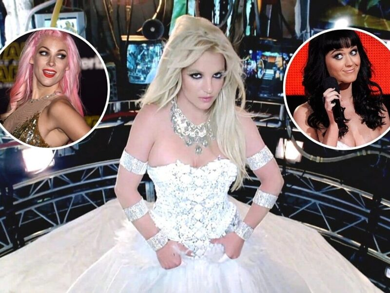 How Katy Perry Walking Into a Room Inspired One of Britney Spears' Biggest Hits