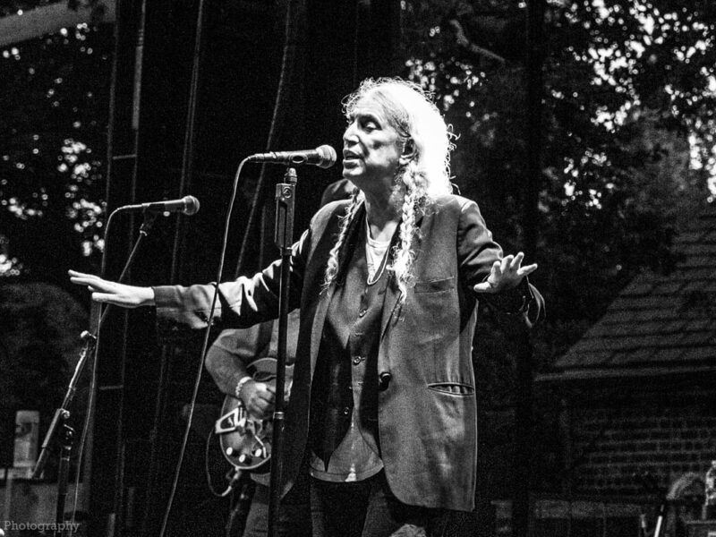 Photography: Patti Smith at SummerStage in Central ParkPatti Smith