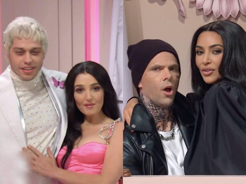 Machine Gun Kelly and Travis Barker Parodied in Kardashian-Powered 'SNL' Sketch